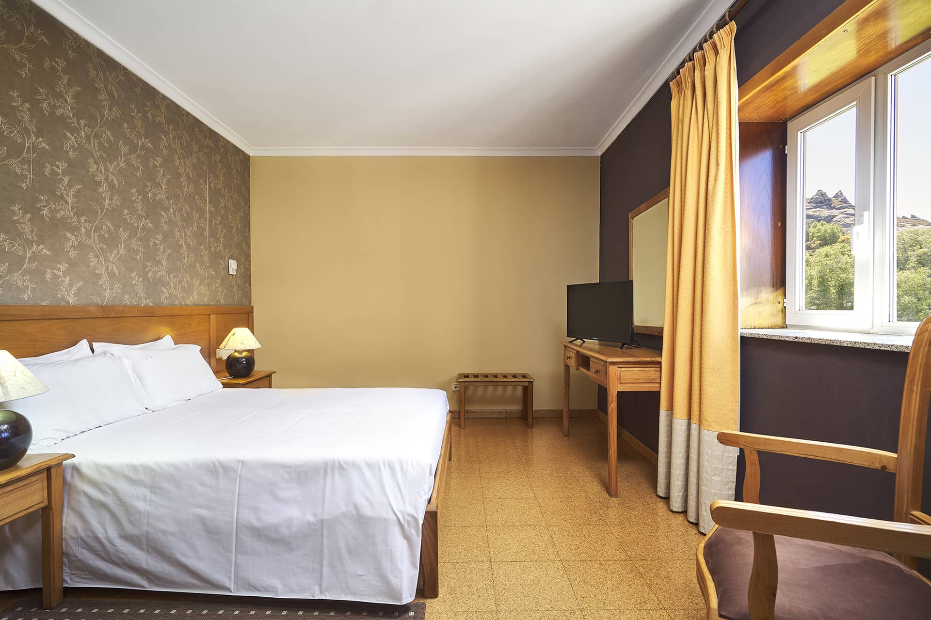 Hotel Castrum Villae - Walk Hotels - Castro Laboreiro - Quarto Duplo Vista Montanha